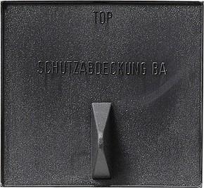 Gira Schutzabdeckung schwarz für BA, Instabus 001501