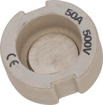 Mersen D-Schraub-Paßeinsatz D III 50A weiss 01658.050000