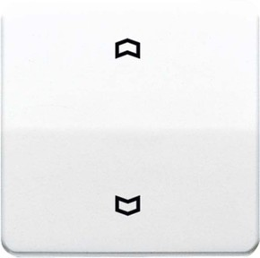 Jung Wippe Symbole alpinweiß für Taster CD 590 P WW