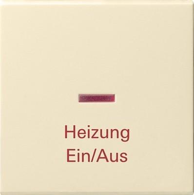 Gira Wippe Heiz-Not-Sch. cremeweiß-glänzend 067801