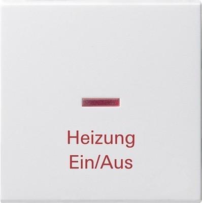 Gira Wippe Heiz-Not-Sch. reinweiß-glänzend 067803