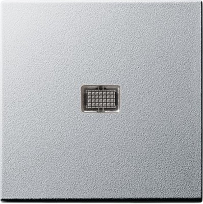 Gira Wippe aluminium m.Kontroll-Fenster 029826