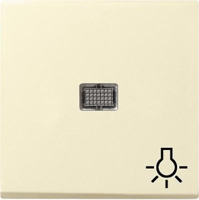 Gira Wippe cremeweiß-glänzend Symbol Licht 063001