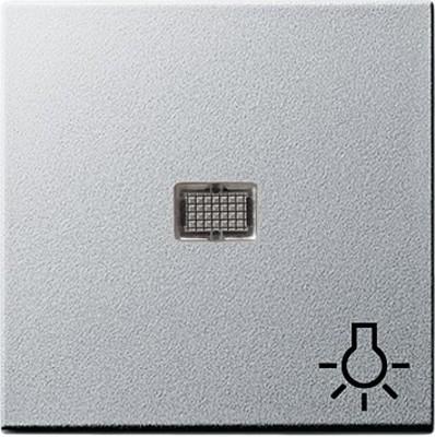 Gira Wippe aluminium Symbol Licht 063026