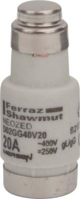 Mersen Sicherungseinsatz NEOZED D02 gG 20A/400V D02GG40V20