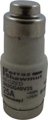 Mersen Sicherungseinsatz NEOZED D02 gG 25A/400V D02GG40V25