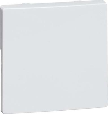 Peha Tastaufsatz 1-fach aluminium für UP-Empfänger D 95.420.70