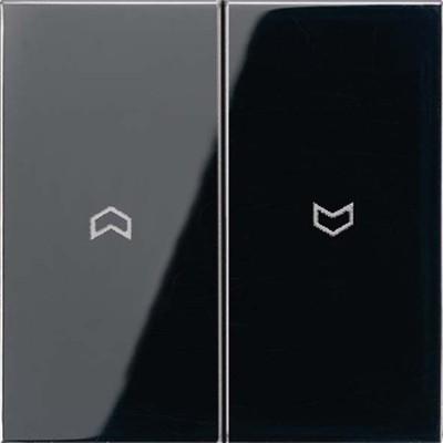 Jung Wippe Symbole schwarz für Taster LS 995 P SW