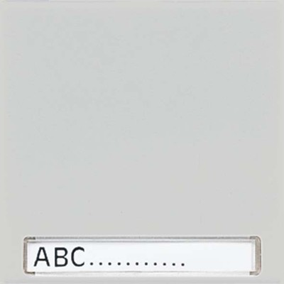 Jung Wippe Schriftfeld lichtgrau für Taster LS 990 NA LG