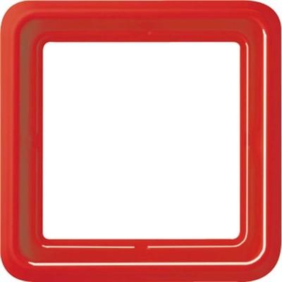 Jung Rahmen 1-fach rt waage/senkrecht CD 581 GL RT