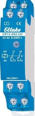 Eltako Steuerrelais f.Reihen-EB 2W pot.frei 16A/250V ER12-002-UC