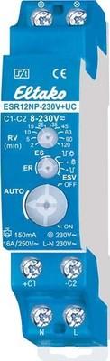 Eltako Stromstoßschalter 8-230VUC,1S,16A ESR12NP-230V+UC