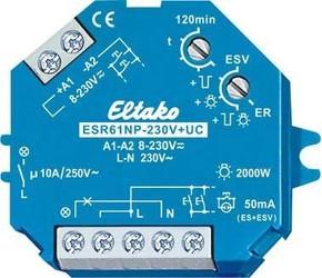 Eltako Stromstoßschalter 1S nicht pot.frei 10A ESR61NP-230V+UC