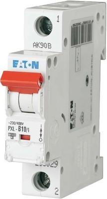 Eaton LS-Schalter m.Beschrift. B 10A, 1p PXL-B10/1