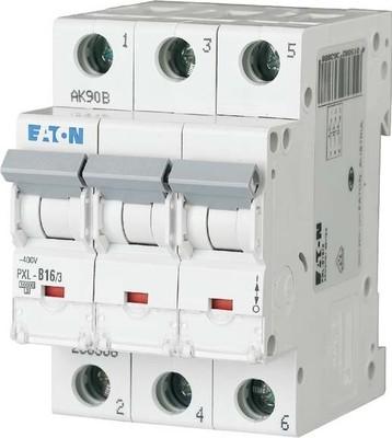 Eaton LS-Schalter m.Beschrift. C 16A, 3p PXL-C16/3