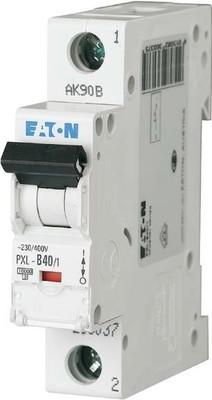 Eaton LS-Schalter m.Beschrift. C 40A, 1p PXL-C40/1