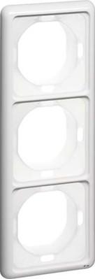Peha Rahmen 3-fach reinweiß waage/senkrecht D 80.673.02 WU