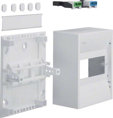 Hager Miniverteiler IP30,6PLE GD106N