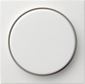 Gira Abdeckung reinweiß-glänzend f.Drehdimmer 065003