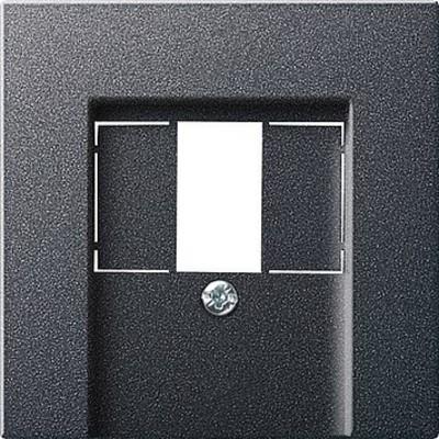Gira Zentralplatte TAE anthrazit System55 027628