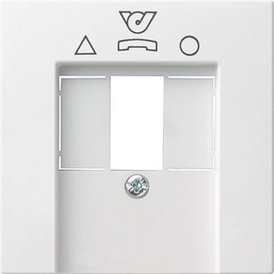 Gira Zentralplatte reinweiß-glänzend f.TDO-Anschlußdose 026003
