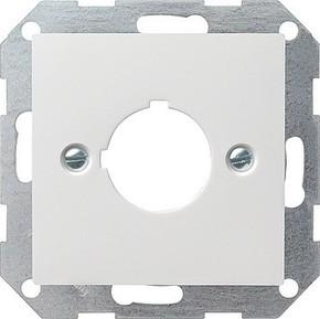Gira Zentraleinsatz reinweiß-glänzend Aufnahme 22,5mm 027203