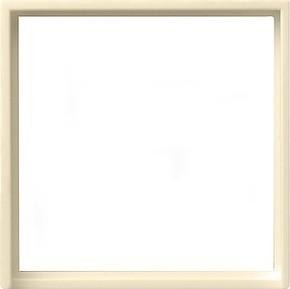 Gira Zentralplatte cremeweiß-glänzend z.Interg.50x50 quad 028201