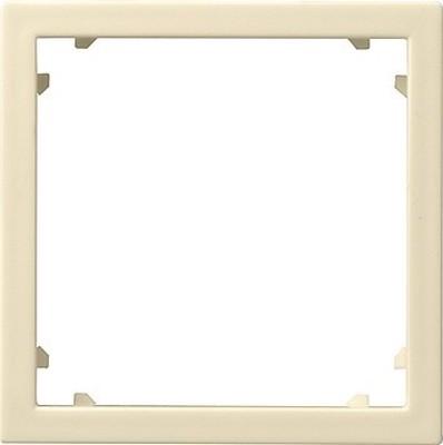 Gira Zentraleinsatz cremeweiß-glänzend 50x50 Alcatel 028301