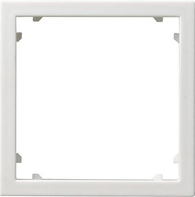 Gira Zentraleinsatz reinweiß-glänzend 45x45 Alcatel 028303
