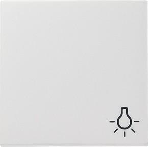Gira Wippe Licht reinweiß-glänzend für Taster 028503