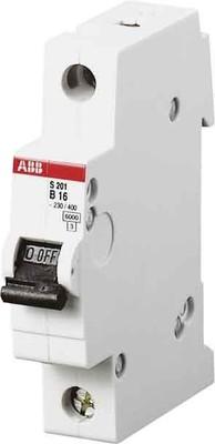 ABB Stotz S&J Sicherungsautomat 6kA 10A B 1p S201-B10