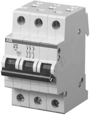 ABB Stotz S&J Sicherungsautomat B,6kA,32A,3P S203-B32