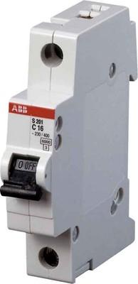 ABB Stotz S&J Sicherungsautomat 6kA 16A C 1p S201-C16