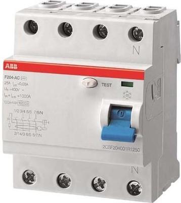 ABB Stotz S&J FI-Schutzschalter pro M Compact F204A-40/0,03