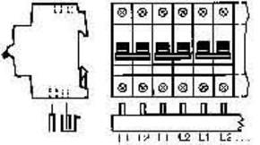 ABB Stotz S&J Sammelschiene pro M Compact PS 2/12