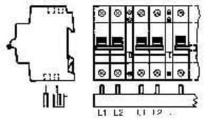ABB Stotz S&J Sammelschiene pro M Compact PS 2/48/16 H