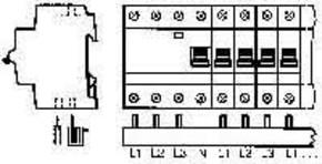 ABB Stotz S&J Sammelschiene PS 3/12 FI