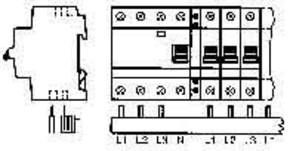 ABB Stotz S&J Sammelschiene zum ablängen PS 3/12 FI H