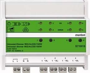 Merten Universal-Dimmer REG/4x230V/150W 571915