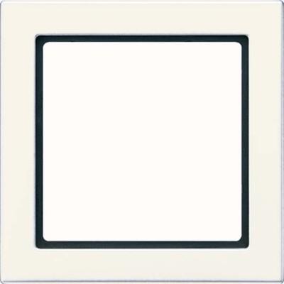 Jung Rahmen 1-fach weiß waage/senkrecht FD 981 W