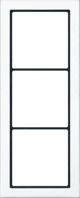 Jung Rahmen 3-fach alpinweiß waage/senkrecht FD 983 WW