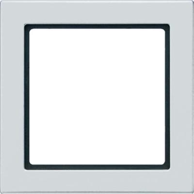 Jung Rahmen 1-fach lichtgrau waage/senkrecht FD 981 LG