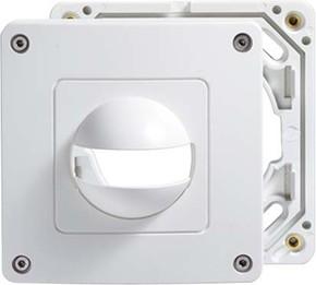ESYLUX Abdeckung weiß IP44 f.MD180i und PD180i EM100 55 157