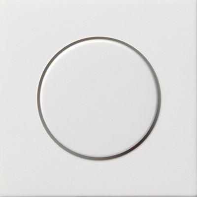 Gira Dimmer-Abdeckung reinweiß-glänzend 0650112