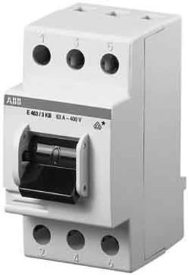 ABB Stotz S&J Ausschalter 63A 3p. E 463/3-KB