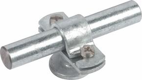 DEHN Stangenhalter m.Abdeckbund f. Rd 16mm m.M8 275 116