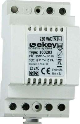 Ekey (AT) Hutschienennetzteil 230VAC-12VAC 1,5A 100 203