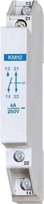 Eltako Kontaktmodul 1S+1Ö 4A/250V AC KM12