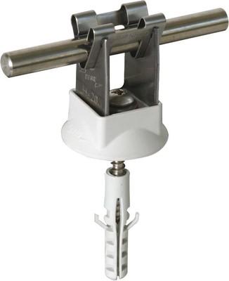 DEHN Leitungshalter NIRO f. Rd 8mm H 20mm 207 109