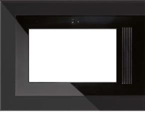 Jung Glasrahmen schwarz für Flat Panel PC R9 GL SW E